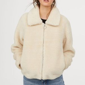 H&M Teddy Pile Jacket